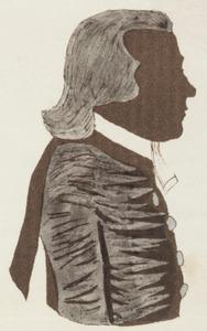 Portret van Jacobus van Rhee (1789-1835)