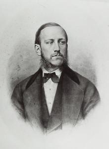 Portret van Cornelis Constantijn van Valkenburg (1848-1877)