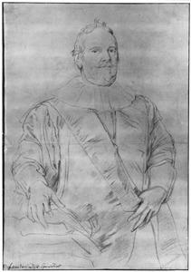 Portret van Justus van Meerstraeten, raadpensionaris van Brussel