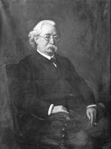 Portret van J.H. Bekker