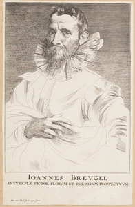 Portret van Jan Brueghel (1568-1625)