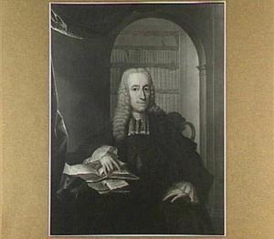Portret van Jan Bartholomeus de Malnoë (1702-1750), echtgenoot van Catharina Gasparina van der Meulen (1707-1750)