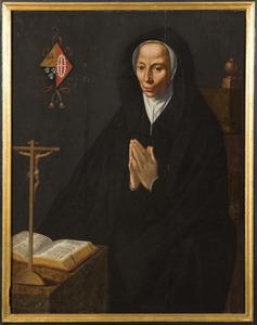 Portret van Josina van Adrichem (?-1617)