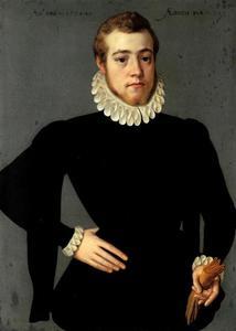 Portret van een 25-jarige man