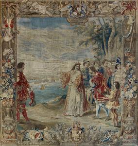 Guglielmo Raimondo Moncada graaf van Augusta wordt door koning Martino verheven tot baron van Cerbellio en San Vincenzo in Catalonië