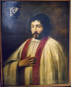 Portret van de Amsterdamse pastor Reynier Ingels, broer van de schilder