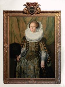 Portret van Eva Ment (1606-1658)