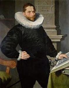 Portret van Cornelis Basgen Jansz. van Egmond van der Nyenburgh (1553-1606)