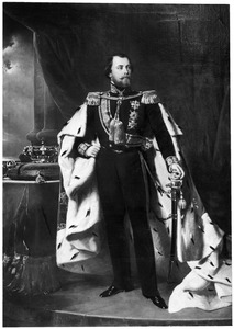 Portret van koning Willem III (1817-1890)