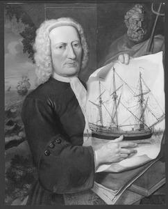 Portret van een reder of zeekapitein