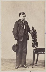 Portret van een jongen uit familie Dorhout