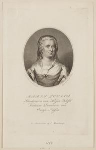 Portret van Maria Louise van Hessen-Kassel (1688-1765)