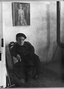 Portret van Jos van den Berg ('Melancholy')