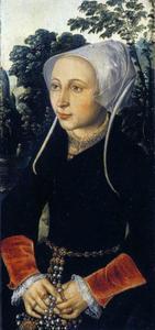 Portret van Lydia van Rijswijk