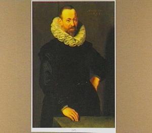 Portret van een 52-jarige man, mogelijk uit de Merian-familie uit Bazel