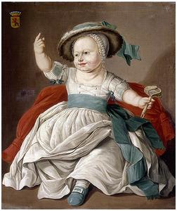 Kinderportret van Edzard Jacob Baron Lewe (1783-1856)