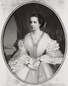 Portret van waarschijnlijk Anna Ernestine van de Velde (1844-1906)