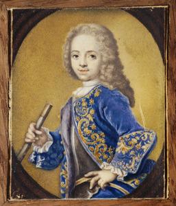 Portret van Willem IV van Oranje- Nassau als kind (1711-1751)