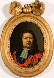 Portret van Willem Cornelisz. Backer (1656-1731), echgenoot van Magdalena de la Court