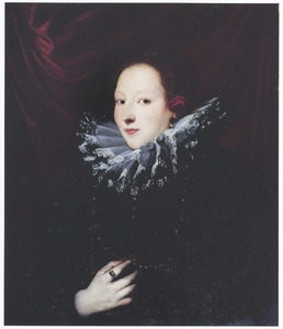 Portret van Contessa Antonia Demarini, vrouw van doge Francesco Lercari van Genua