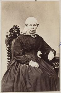 Portret van weduwe Bersma