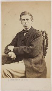 Portret van Carl Herman graaf van Bylandt (1843-1916)