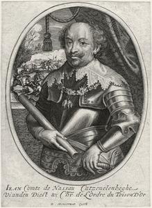 Portret van Jan VIII 'de Jongste' van Nassau-Siegen (1583-1638)