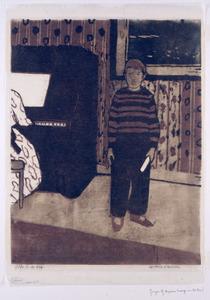 Jongen bij de piano
