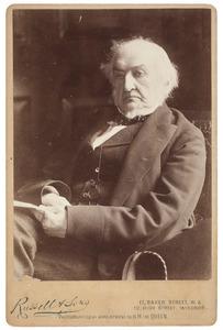 Portret van William Ewart Gladstone (1809-1898)