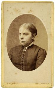 Portret van Annigje Hommes (1835-1920)