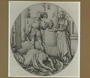 Salome ontvangt het hoofd van Johannes de Doper van de beul