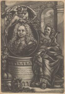 Portret van Mattheus Brouwerius van Nidek (1677-1742)