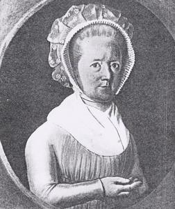 Portret van Aleida Gesina Lankhorst (1744-1824)