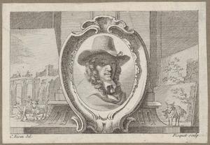 Portret van Karel Dujardin (1626-1678)