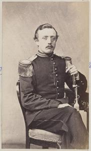 Portret van een man, waarschijnlijk Gerrit Nicolaas de Wendt (1846-1923)