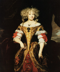 Portret van Anne Marie van Diemen ( -1699)