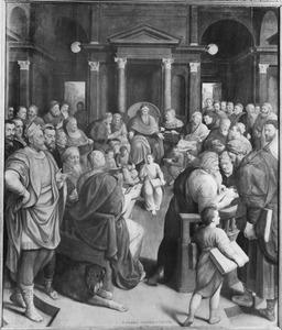 De Viglius-triptiek: Christus als twaalfjarige in de tempel