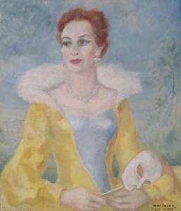 Portret van Elisabeth Andersen (1920-)
