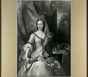 Portret van Maria Arnoudina Gevaerts, echtgenote van Jacob van der Heim