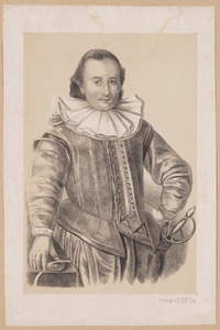 Portret van Tjalling van Camstra (1576-1614)