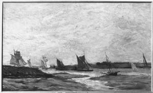 Boten op de Thames