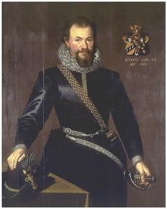 Portret van Ossebrant Clant van Nijestein (1584-1648)