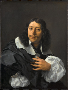 Zelfportret van Karel Dujardin (1626-1678)
