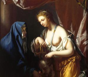 Judith met het hoofd van Holofernes  (Judith 13:11)