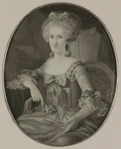 Portret van Johanna Moralla Maria van Cattenburch (1732-1794)