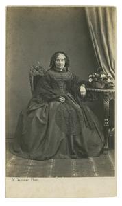 Portret van Johanna Martha Maria van der Heim (1799-1869)