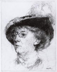 Portret van Thérèse Schwartze (1851-1918)