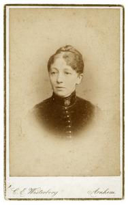 Portret van Johanna Cornelia van Engelenburg (1841-1925)