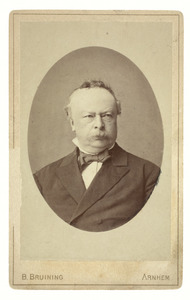 Portret van de schilder Claas Hendrik Meiners (1818-1894)