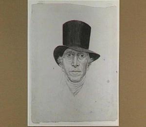 Portret van de kunstenaar Abraham van Strij (1753-1826)